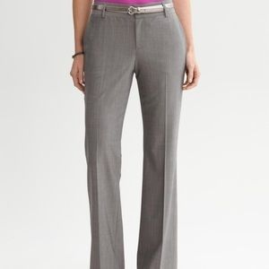 Banana Republic Wool Gray Dress Pants 4p